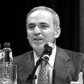 Chess title - Grandmaster Garry Kasparov