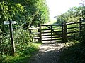 Gate on Harting Down on the South Downs Way - geograph.org.uk - 968252.jpg