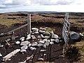 Gate onto Sandwater Hill - geograph.org.uk - 1452762.jpg