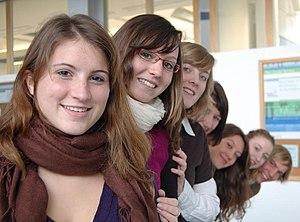 Light skin - A group of light-skinned Europeans