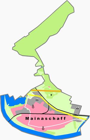 Mainaschaff - Constituent communities