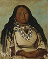 George Catlin - Kah-béck-a, The Twin, Wife of Bloody Hand - 1985.66.124 - Smithsonian American Art Museum.jpg