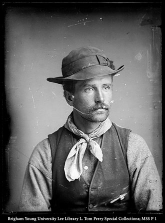 George Edward Anderson - A photo of George Edward Anderson, Mormon photographer