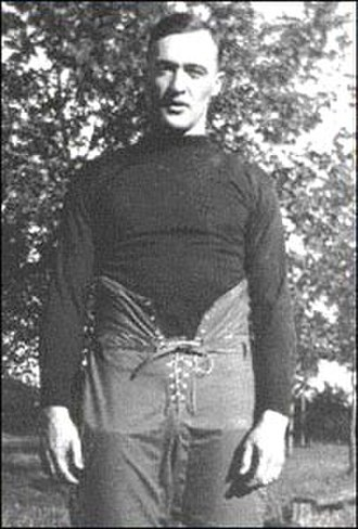 "Notre Dame Fighting Irish football - George Gipp, ""The Gipper"""