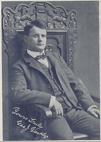 George J. Gaskin - Photo of George J. Gaskin from The Phonoscope magazine, Nov. 1896