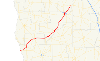Georgia State Route 91 Highway in Georgia