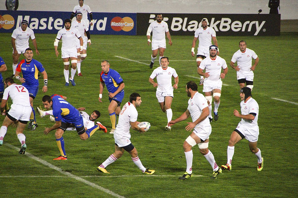Georgia vs Romania 2011 RWC (3)
