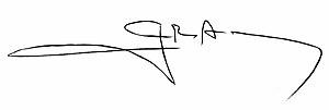 Geraldo Alckmin - Image: Geraldo Alckmin assinatura de governador de SP