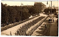 German troops Riga 1917