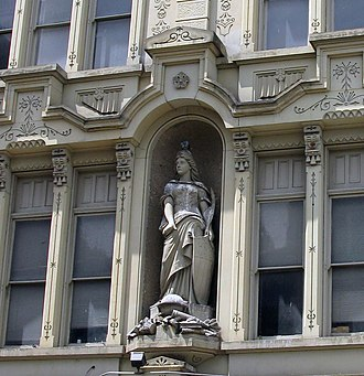 Over-the-Rhine - Image: Germania Building front