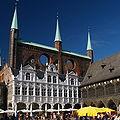Germany Luebeck townhall Anbau.jpg