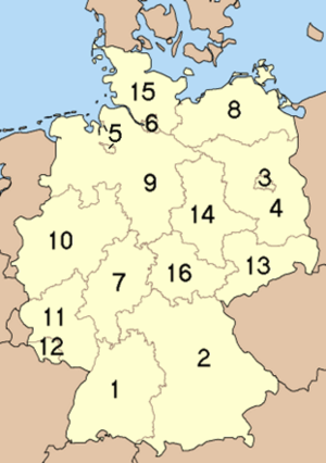The Federal Republic of Germany and its sixtee...