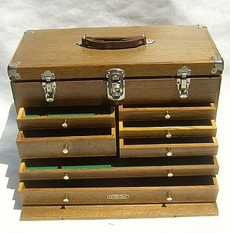 Portable chest with a carrying handle Gerstner Chest 2.jpg