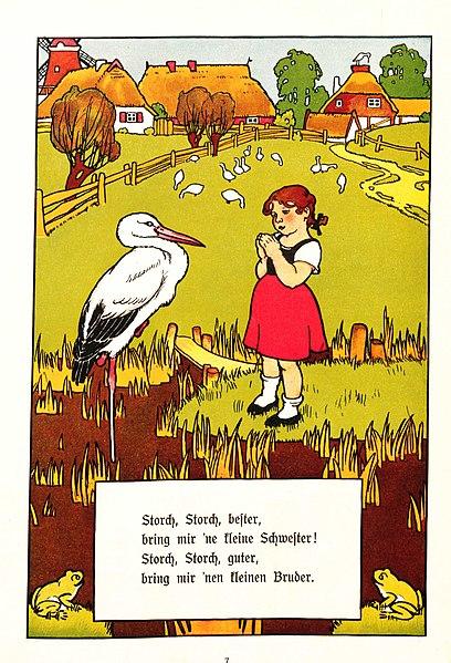 Datei:Gertrud Caspari Kinderhumor Storch.jpg