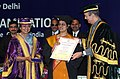 Ghulam Nabi Azad presented the certificates, at the 17th Convocation of National Board of Examination, in New Delhi on February 01, 2012. The Speaker, Lok Sabha, Smt. Meira Kumar was the Chief Guest on the occasion.jpg