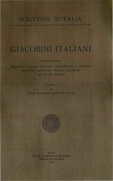 File:Giacobini italiani, Vol. II, 1964 – BEIC 1828515.pdf