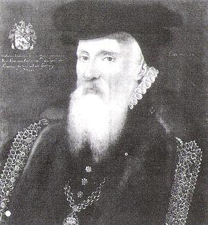 Gilbert Dethick - Sir Gilbert Dethick in 1574