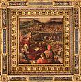 Giorgio vasari e aiuti, arnolfo di cambio mostra i progetti per ingrandire firenze, 1563-65, 01.jpg