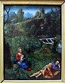 Giovan francesco caroto, riposo durante la fuga in egitto, 1520 ca..JPG