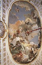 Giovanni Battista Tiepolo - The Apotheosis of the Spanish Monarchy - WGA22369.jpg