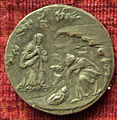 Girolamo santacroce, medaglia di jacopo sannazzaro, verso con natività.JPG