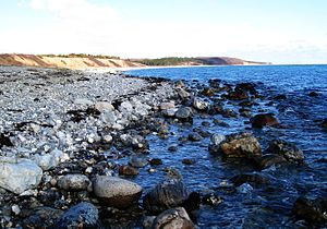 Djursland - Djursland's 50 km eastern coastline is stony, open and walkable