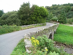 Timeline of the Irish Civil War - Glencullen Bridge