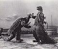 Godzilla Raids Again (1955) Godzilla vs Anguirus.jpg