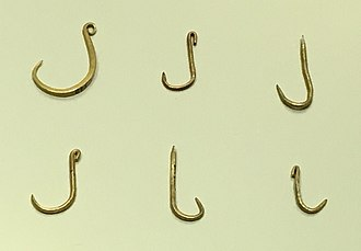 Muisca art - The Muisca were fishermen and caught the fish of the many lakes and rivers of the Altiplano using golden hooks