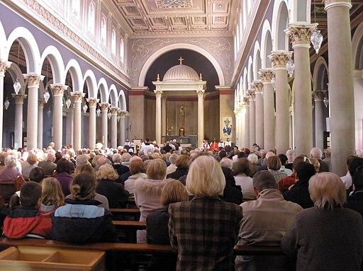 Good Friday in St. Pius X Church