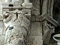 Gournay-en-Bray (76), collégiale St-Hildevert, collatéral nord du chœur, chapiteaux dans l'angle nord-ouest.jpg