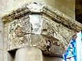 Gournay-en-Bray (76), collégiale St-Hildevert, nef, chapiteau à la fin des grandes arcades du sud.jpg