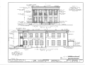 Governor's Mansion, 1010 Colorado Street, Austin, Travis County, TX HABS TEX,226,-AUST,3- (sheet 3 of 11).png
