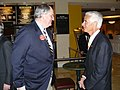 "Governor Charlie Crist chatting with former U.S. Senator from New Hampshire Robert C. ""Bob"" Smith.jpg"