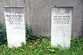 Grabstein David (1855-1941) und Dr. jur. Horst (Egon) Berkowitz (1898-1983) , Jüdischer Friedhof Bothfeld in Hannover.jpg