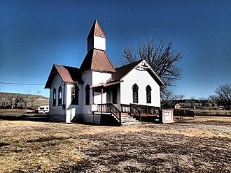 Golden Valley County, Montana - Image: Grace Lutheran Church of Barber Montana 12