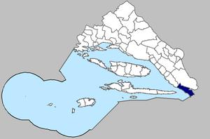 Gradac, Split-Dalmatia County - Image of Gradac municipality within the Split County