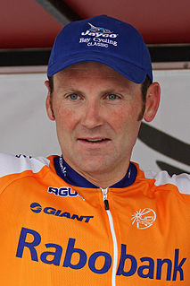 Graeme Brown Racing cyclist