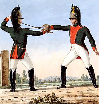 Battle of Campo Maior - The French 26th Dragoons