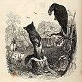 Grandville - Fables de La Fontaine - 01-02 . Le corbeau et le renard.jpg