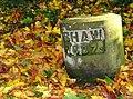 Grave, Balmoral Cemetery - geograph.org.uk - 1019928.jpg