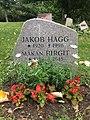 Gravsten Jakob och Birgit Hägg Norra kyrkogården Visby.jpg