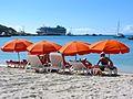 Great Bay Beach with Cruise Ship (6545966681).jpg