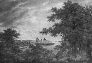 Gripsholms slott från hjorthagen