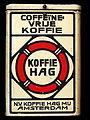 Groot wit blik van NV Koffie Hag Mij Amsterdam, foto 6.JPG