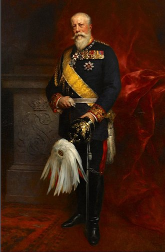 House Order of Fidelity - Frederick I, Grand Duke of Baden in 1900, with the order's sash and star.