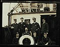 Group of officers on the deck of SS DAMASCUS (7633482008).jpg