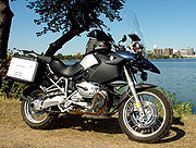 BMW R1200GS dual-purpose motorcycle