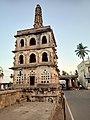 Guard tower Shakambari temple.jpg