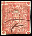 Guatemala 1868 first revenue stamp F1.jpg